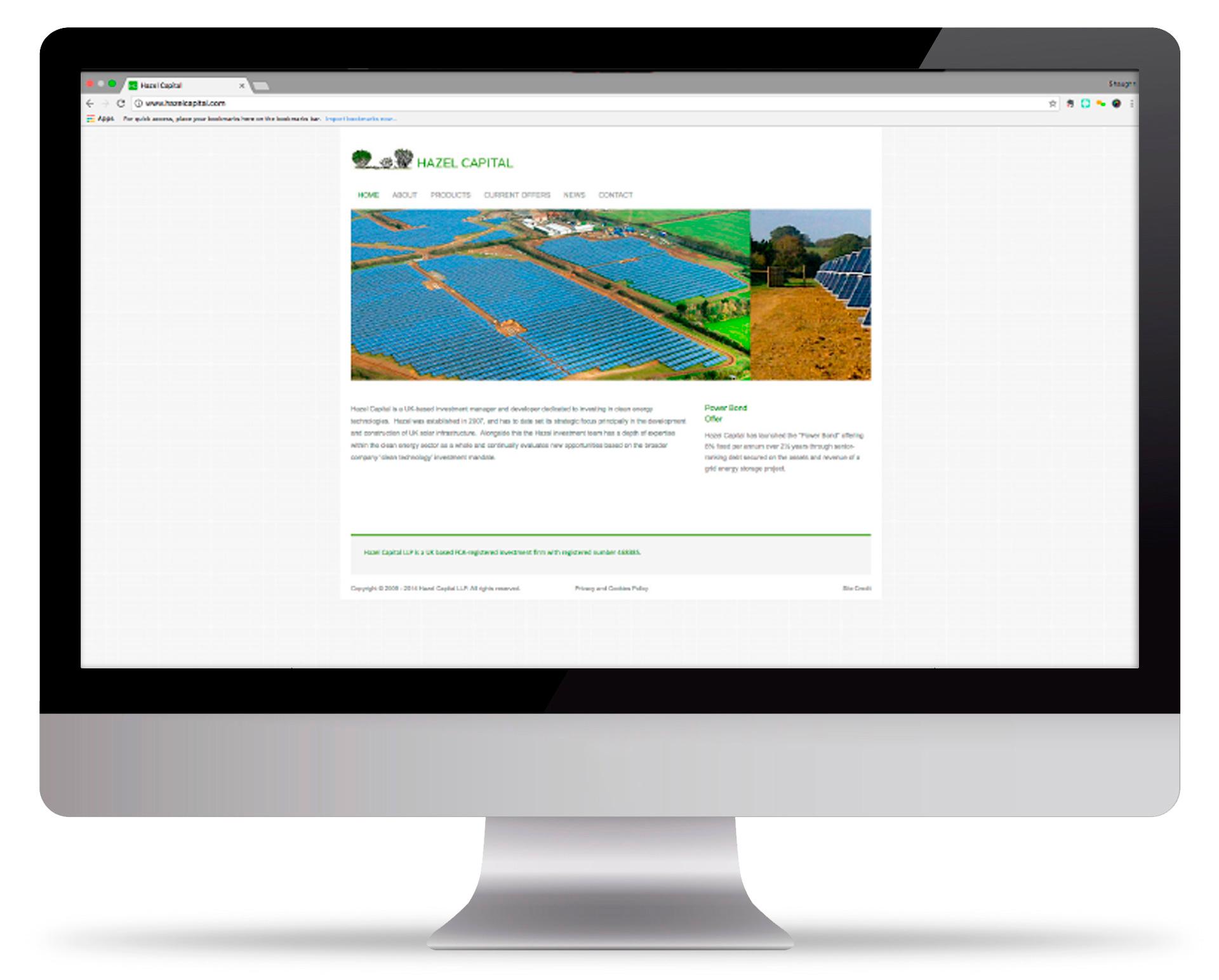 Old Hazel Capital website