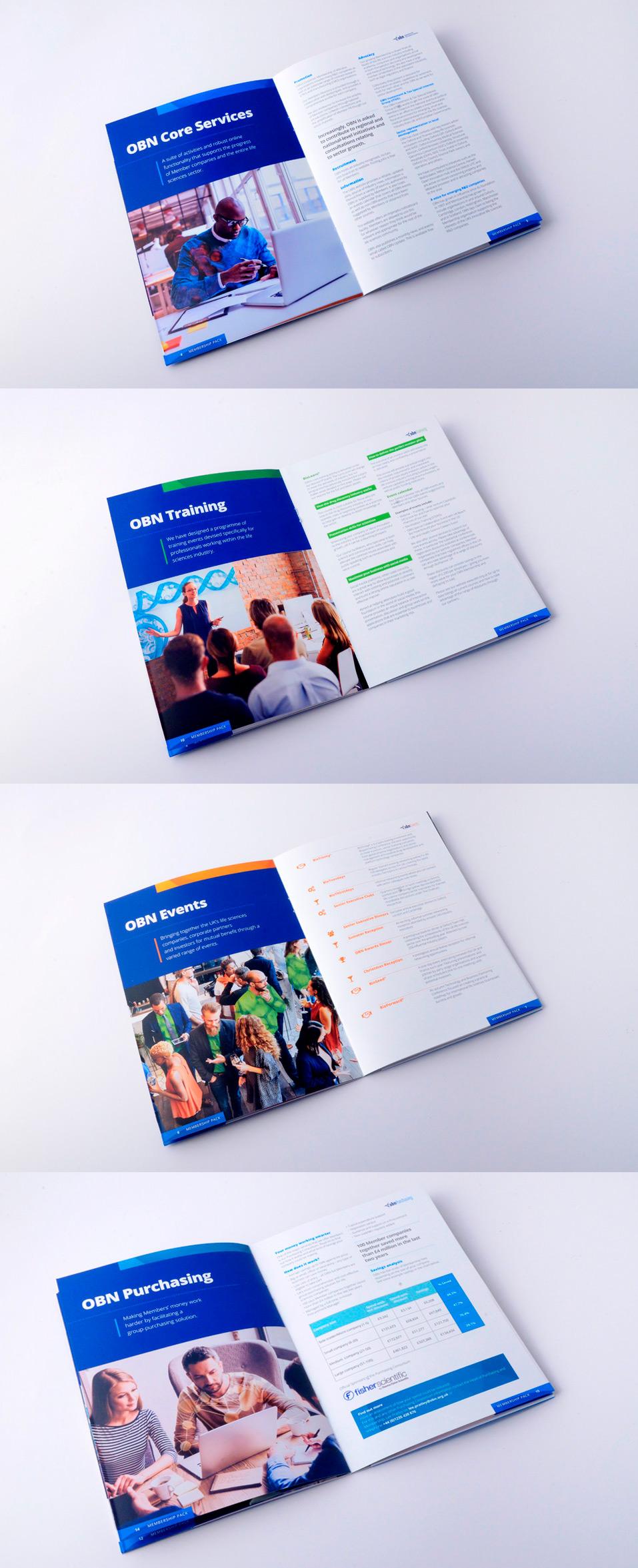 OBN event marketing literature