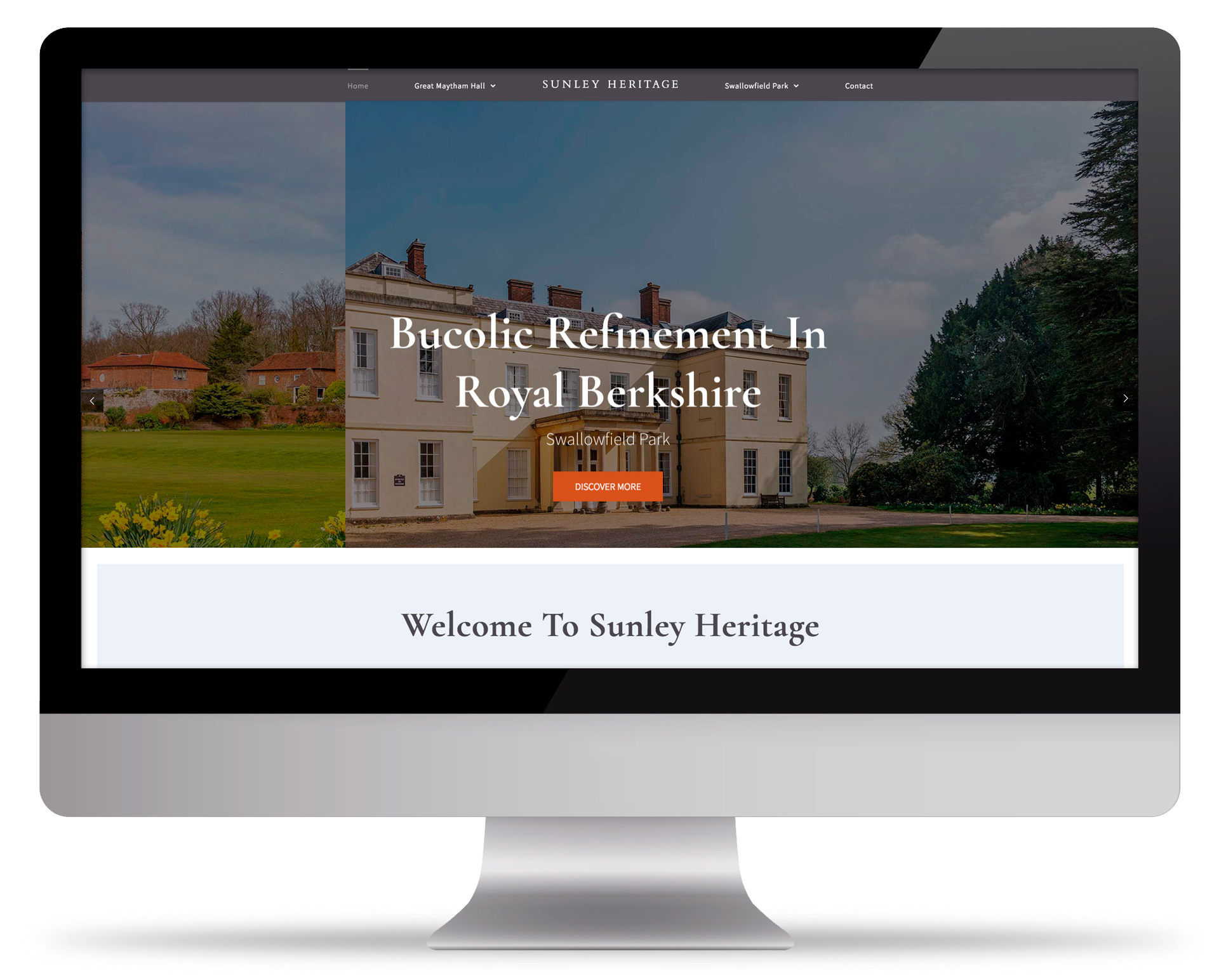 Sunley Heritage - Mobile responsive website build